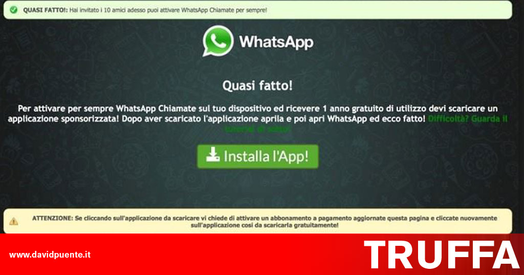 truffa-whatsapp-chiamate-gratis